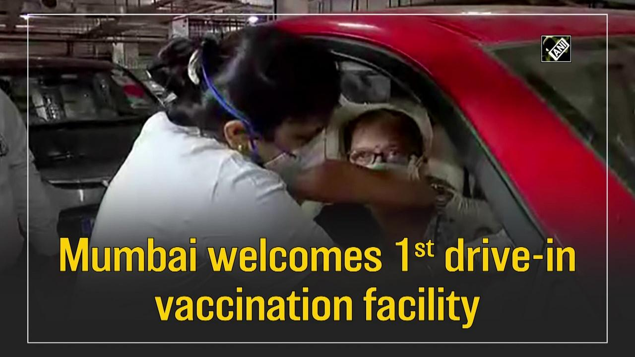 Mumbai welcomes 1st drive-in vaccination facility