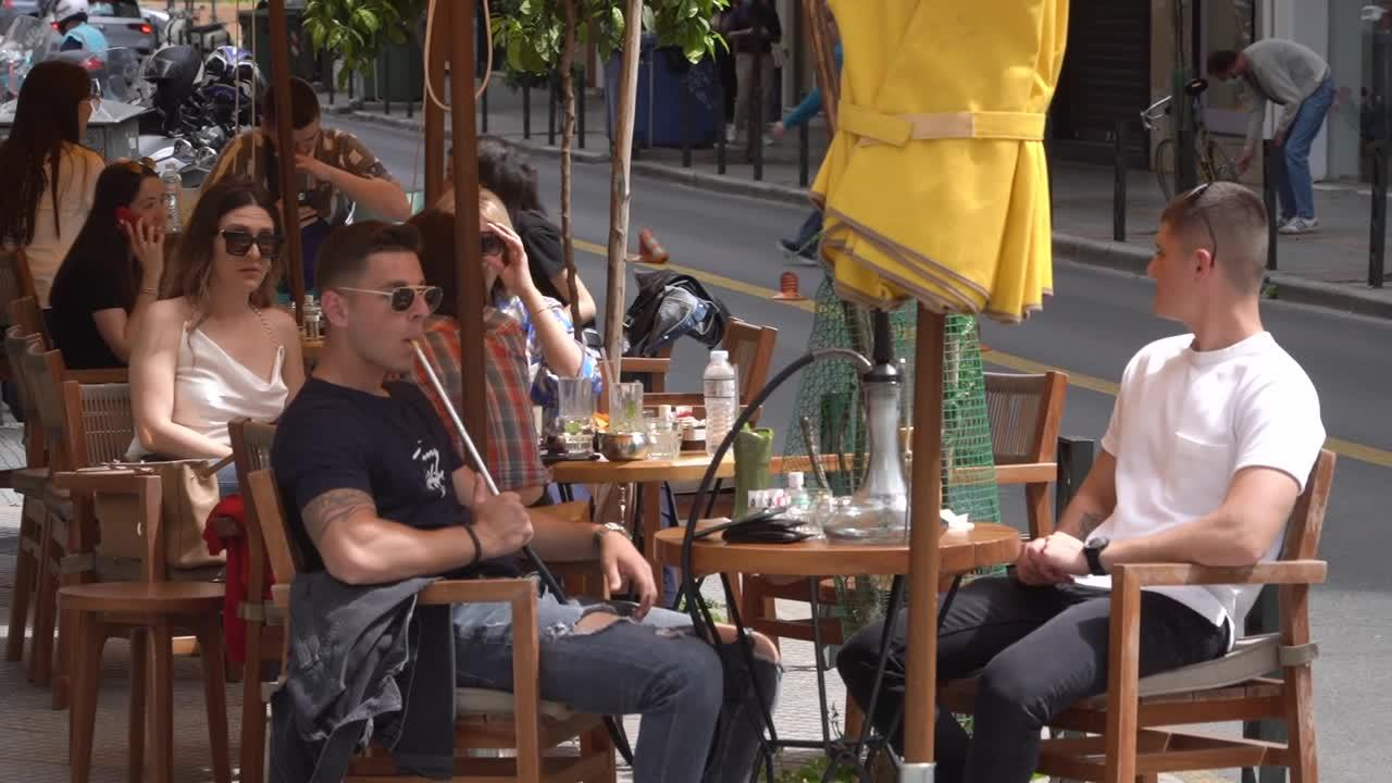 Greece reopens bars and restaurants after six-month COVID-19 closure
