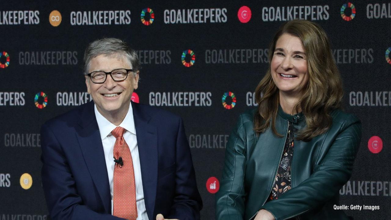 Bill Gates & Frau Melinda geben Scheidung bekannt