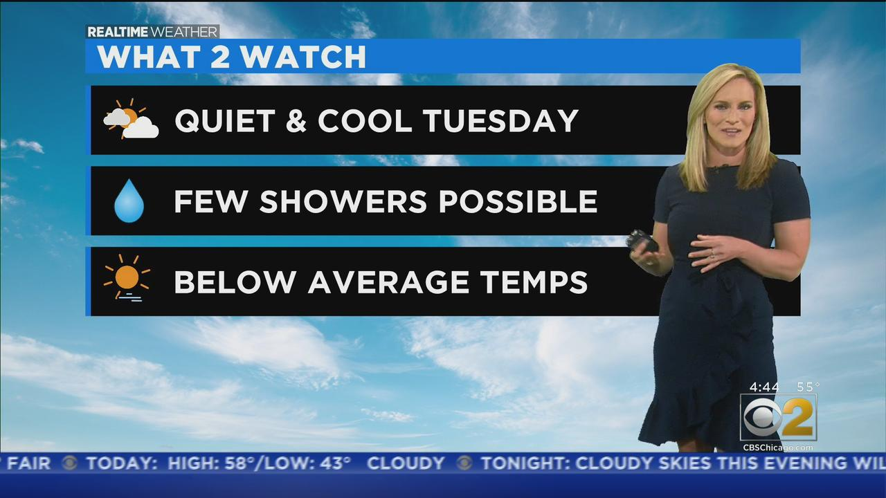 Cooler Day Ahead