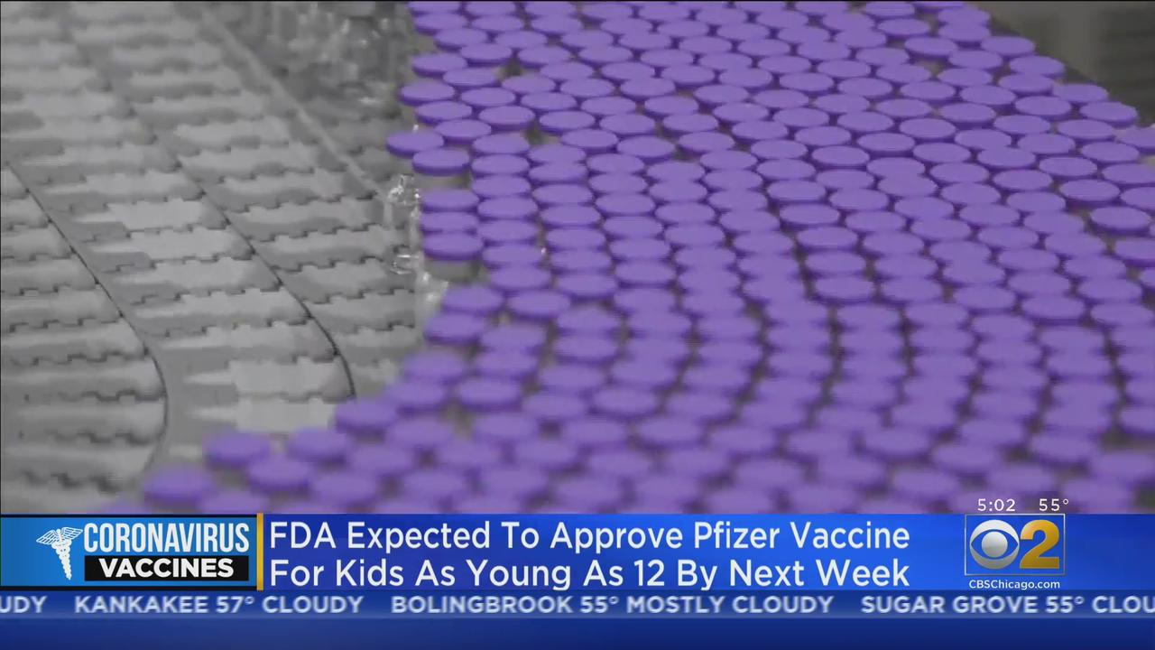 FDA Could Authorize Pfizer Vaccine For Kids As Young As 12 By Early Next Week