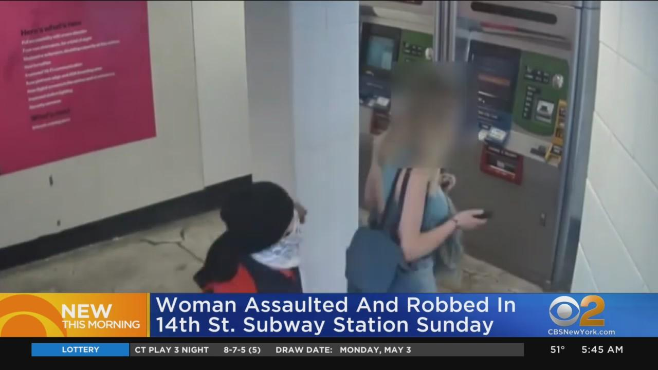 Violent Subway Robbery Caught On Video