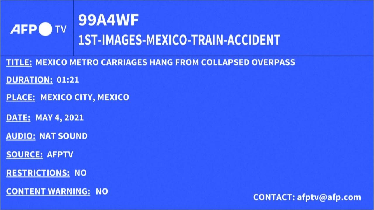 Mexico City train Crash