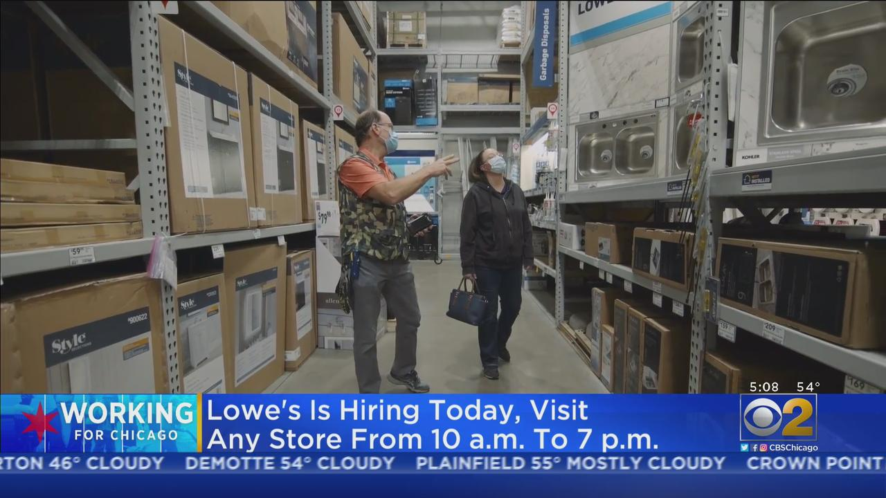 Lowe's Hiring Tuesday With In-Store Applications