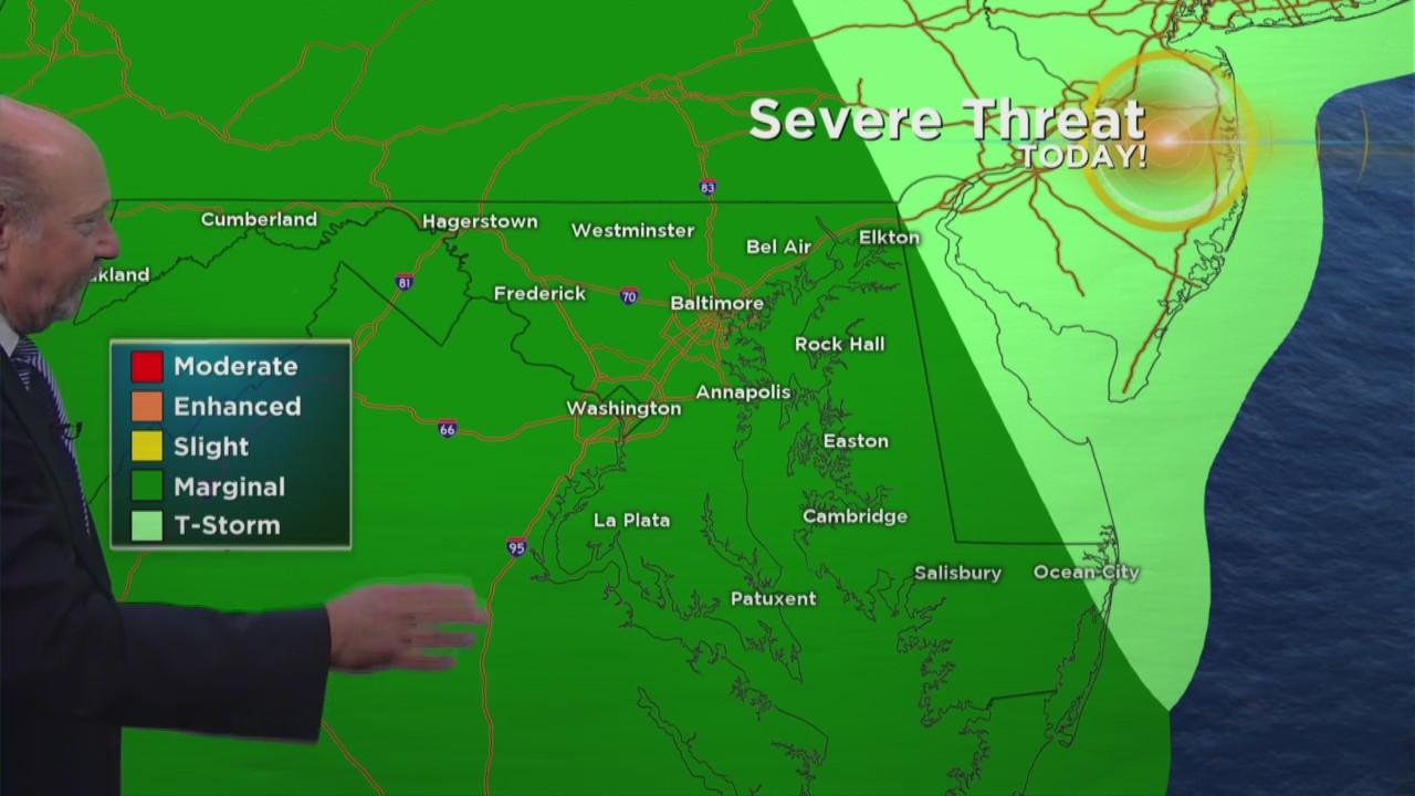 Tuesday Morning Weather With Marty Bass