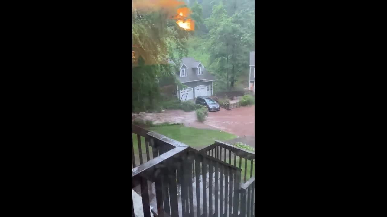 Central Alabama flooded by heavy rains