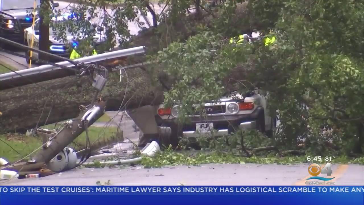 Southeast Slammed By Severe Weather