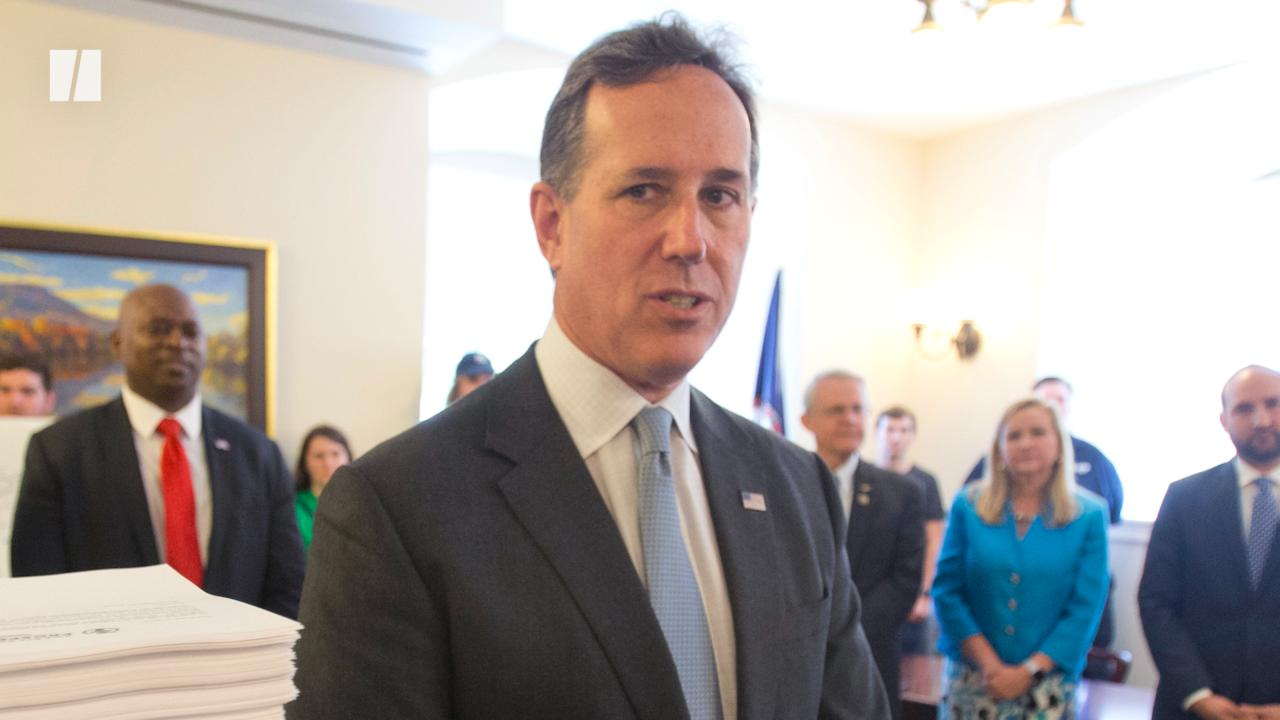 CNN's Rick Santorum Backlash