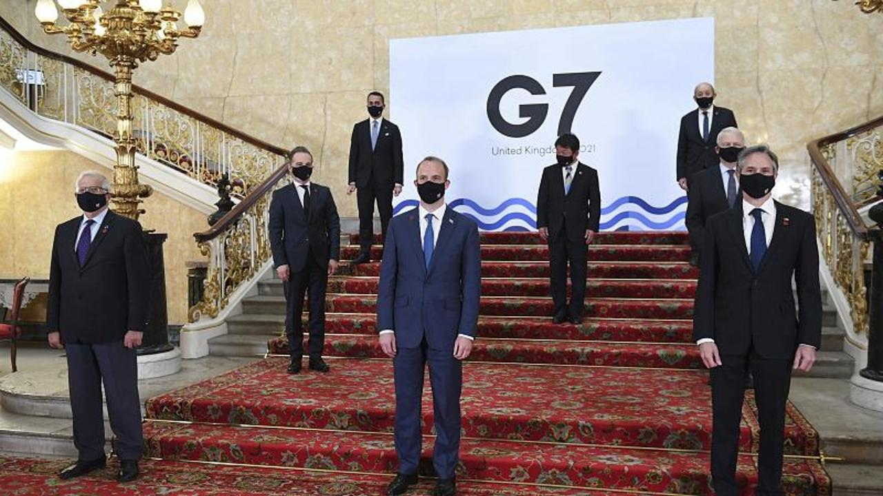 Russia, Myanmar, Iran and COVID on agenda as G7 foreign ministers meet in London
