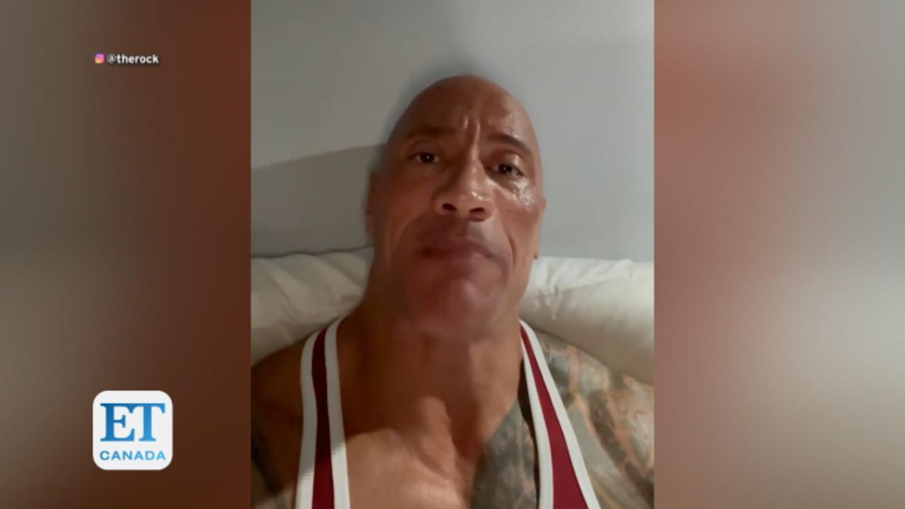 Dwayne Johnson Sends Heartfelt Video To Little Girl Battling Cancer