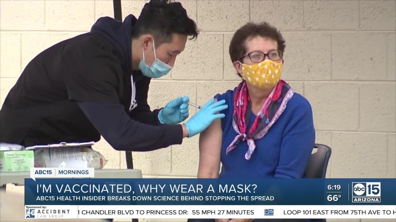 Why do you have to wear a mask after being fully vaccinated against COVID-19?