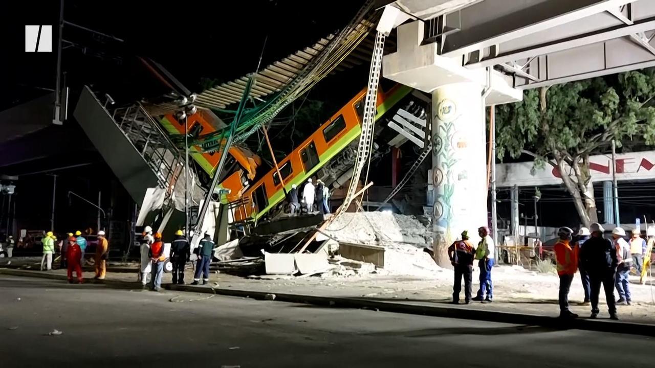 Deadly Mexico City Train Crash