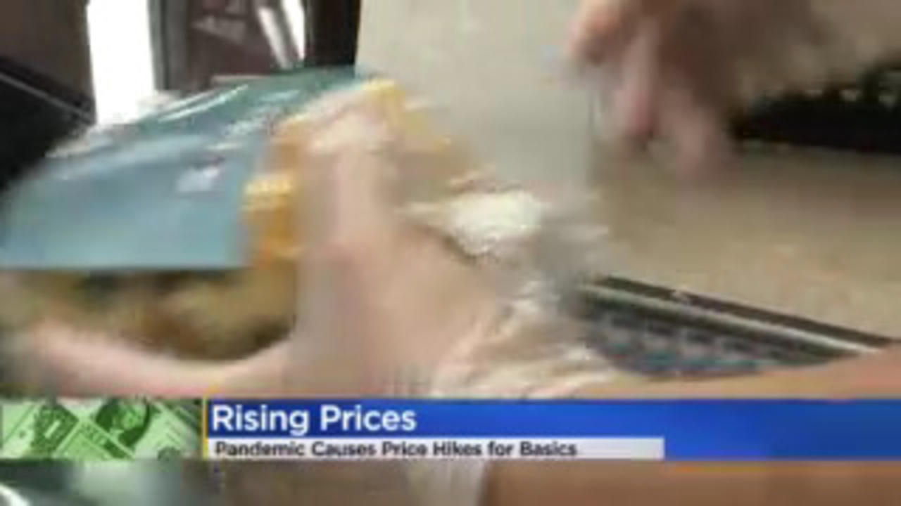 Consumer Seeing Rising Prices Across Many Sectors In 2021