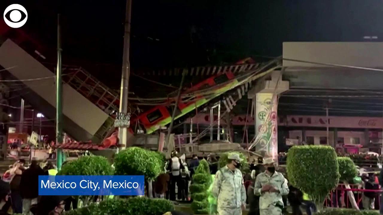 WEB EXTRA: Mexico City Metro Collapse