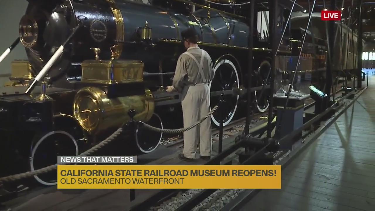 Open for Business: California State Railroad Museum in Sacramento