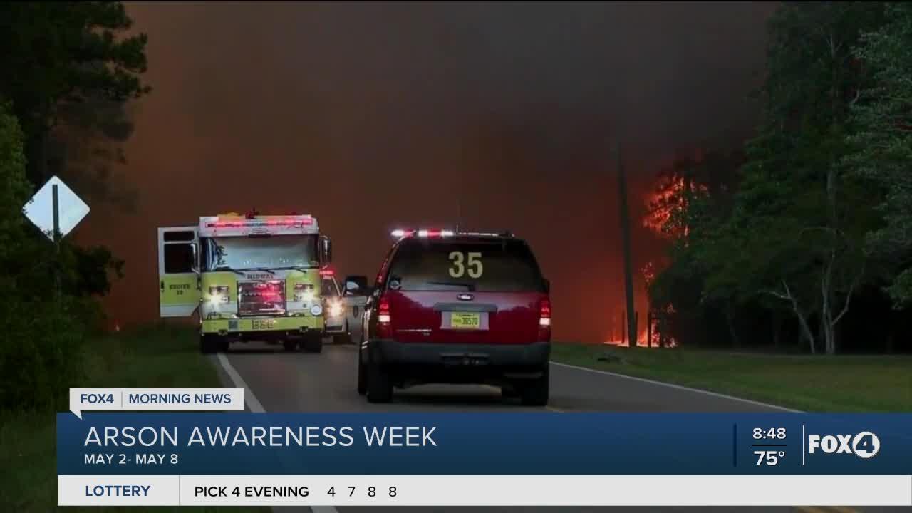 Arson Awareness week in Florida