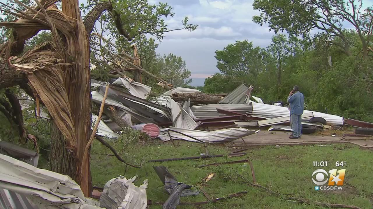 Storm Damage Revealed After Suspected Tornado Touches Down In North Texas