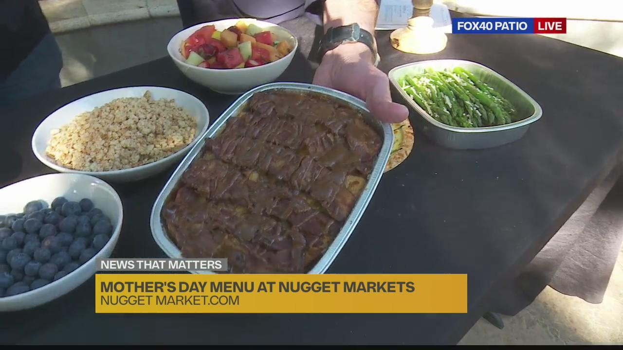 Mother's Day menu at Nugget Market