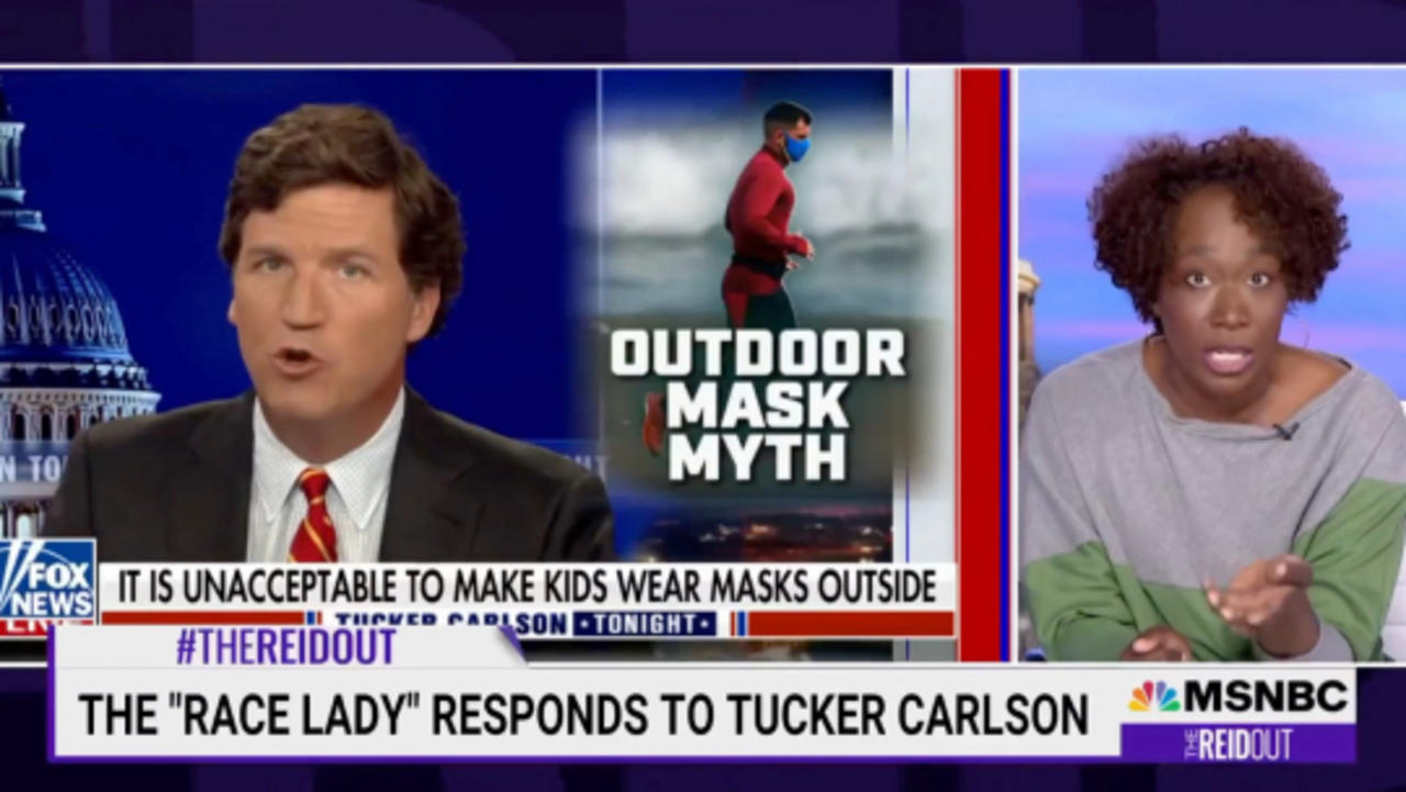 Joy Reid Fired Back at Tucker Carlson For 'Race Lady' Remarks