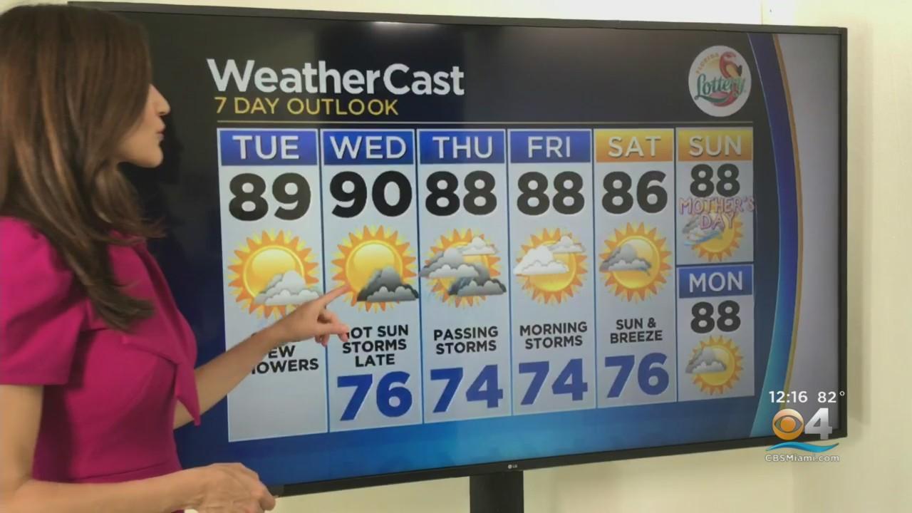 CBSMiami.com Weather @ Your Desk 5-4-21 12PM