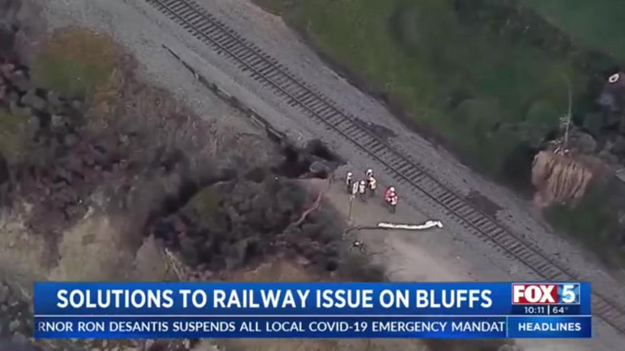 Officials propose solutions for California railroad tracks frequently washed out