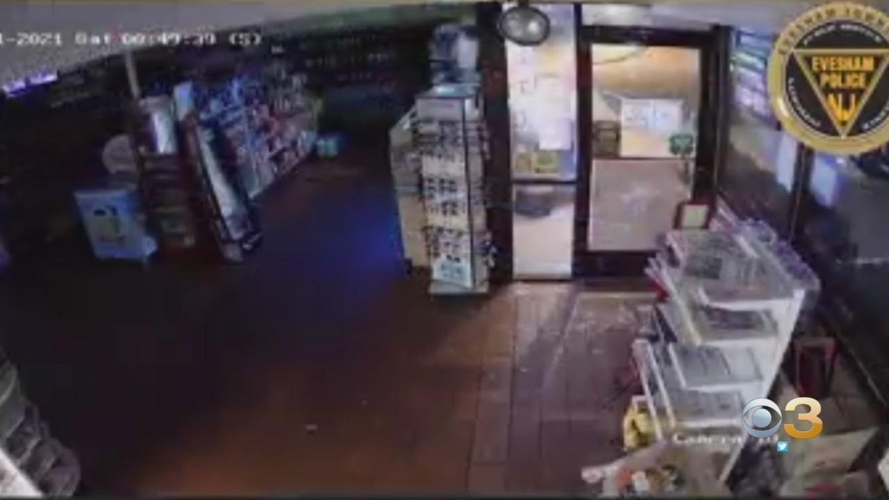 Evesham Township Police Searching For Suspect Wanted In Smash & Grab Robbery