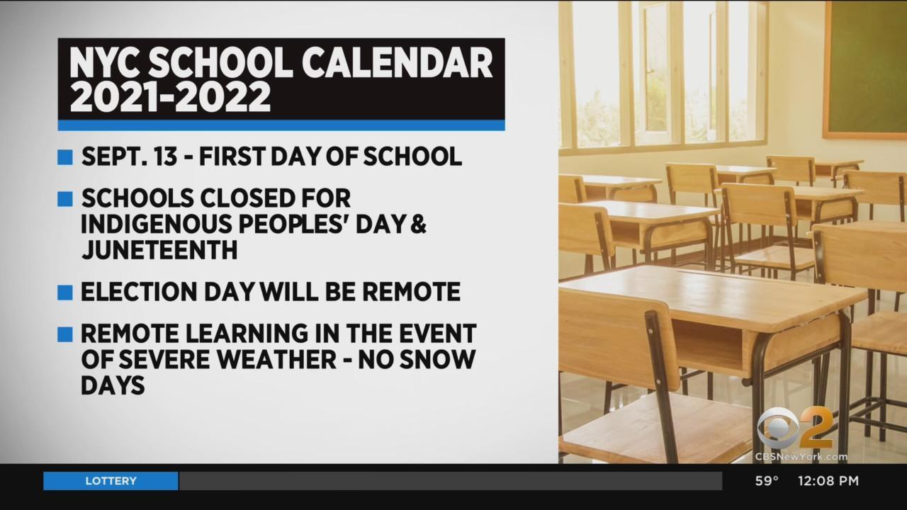 NYC Releases 2021-22 School Calendar