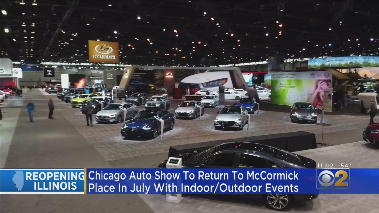 Auto Show Returning To McCormick Place In July