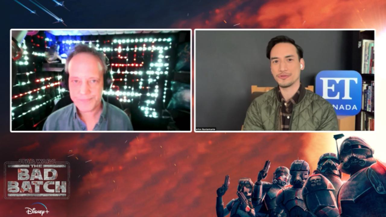 Dee Bradley Baker Previews 'Star Wars: The Bad Batch'