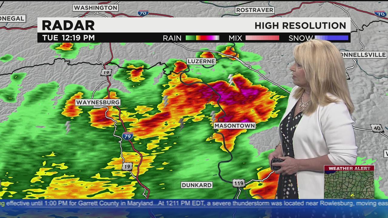 KDKA-TV Afternoon Forecast (5/4)