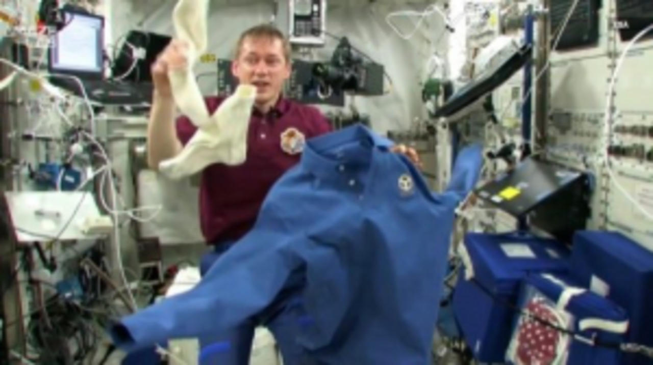 What Is It Like To Do Your Laundry in Space?