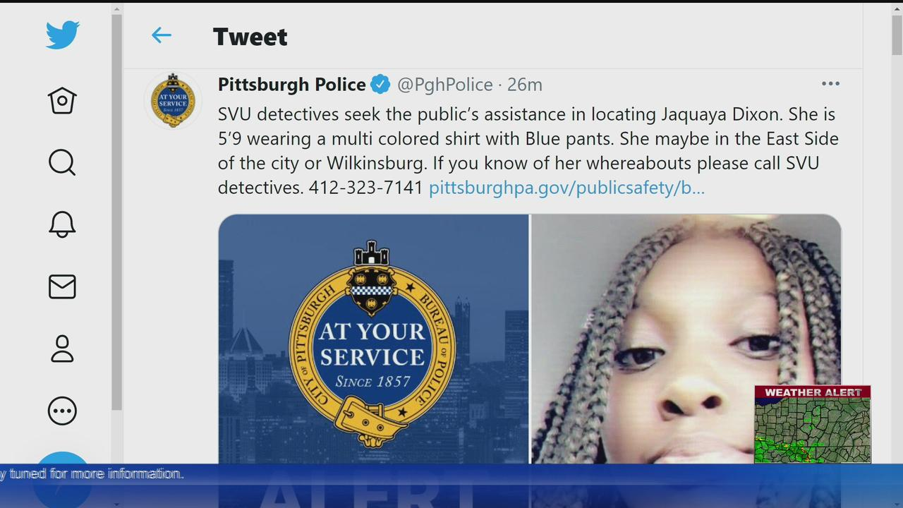Pittsburgh Police Ask For Help Finding Missing 16-Year-Old