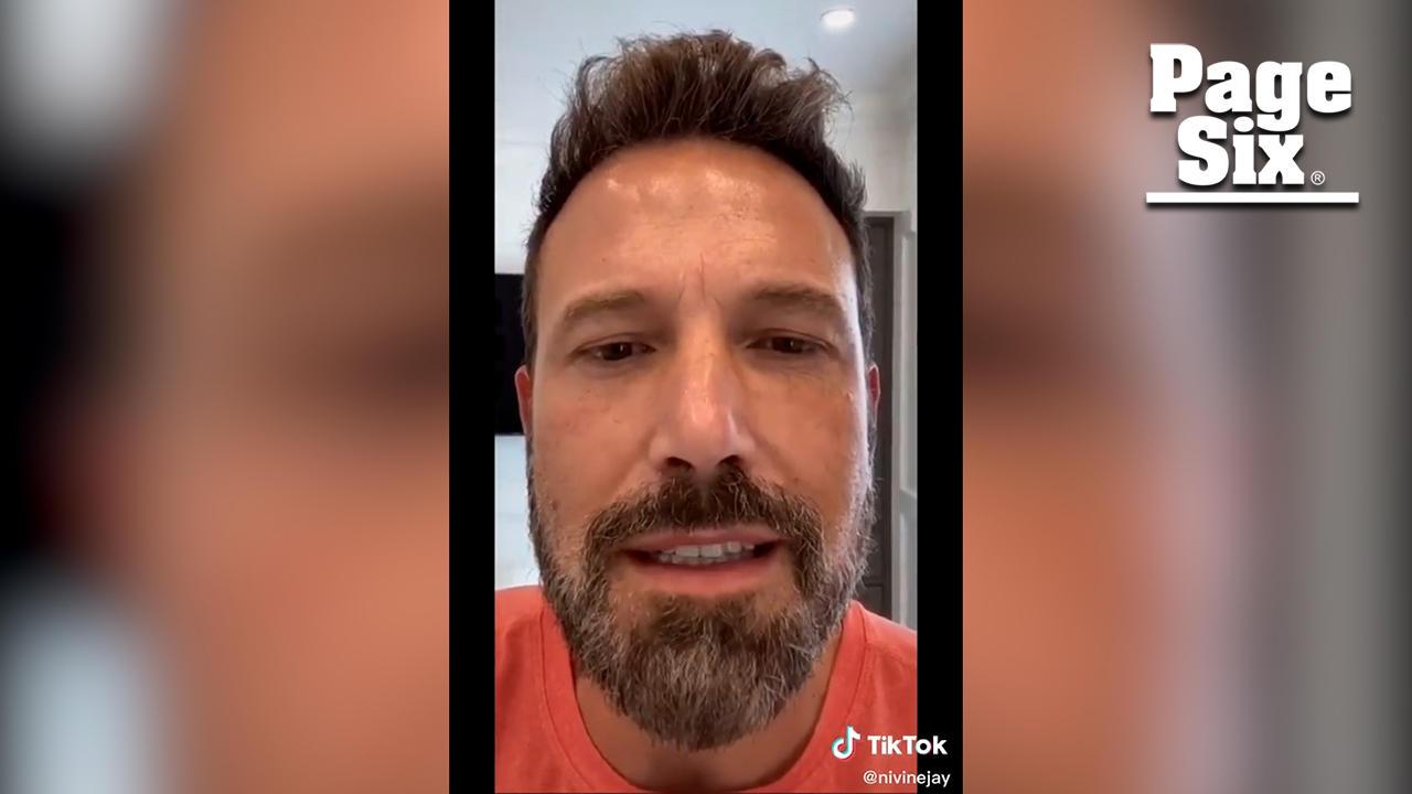TikTok user claims Ben Affleck sent her video after matching on Raya