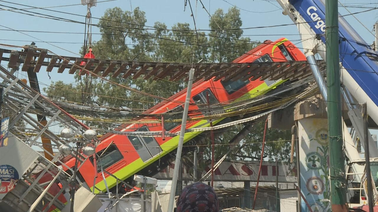 Mexico metro overpass collapses, killing 23 and injuring dozens