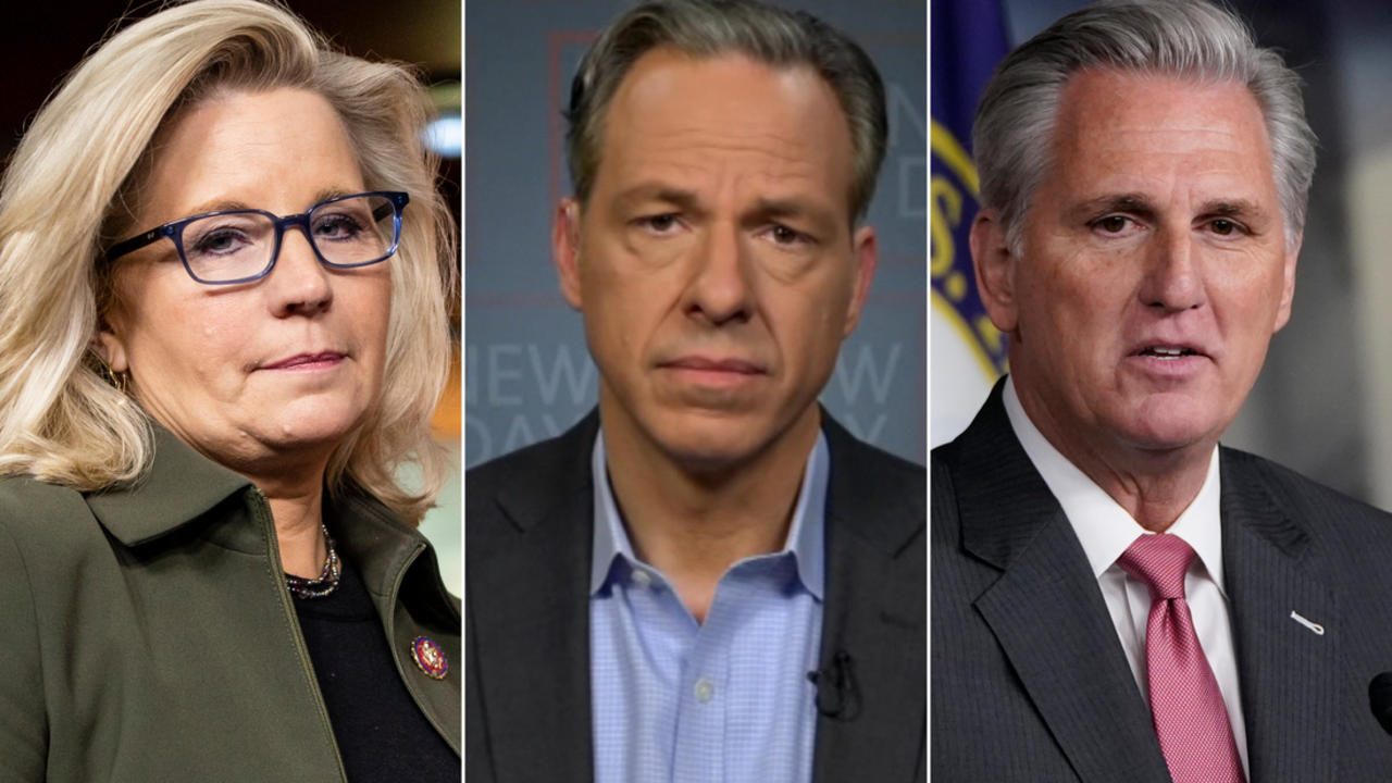 Tapper: The real reason why McCarthy is bothered by Cheney