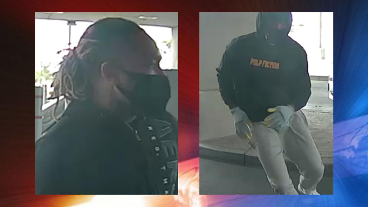 Las Vegas police looking for 3 men who robbed business April 27