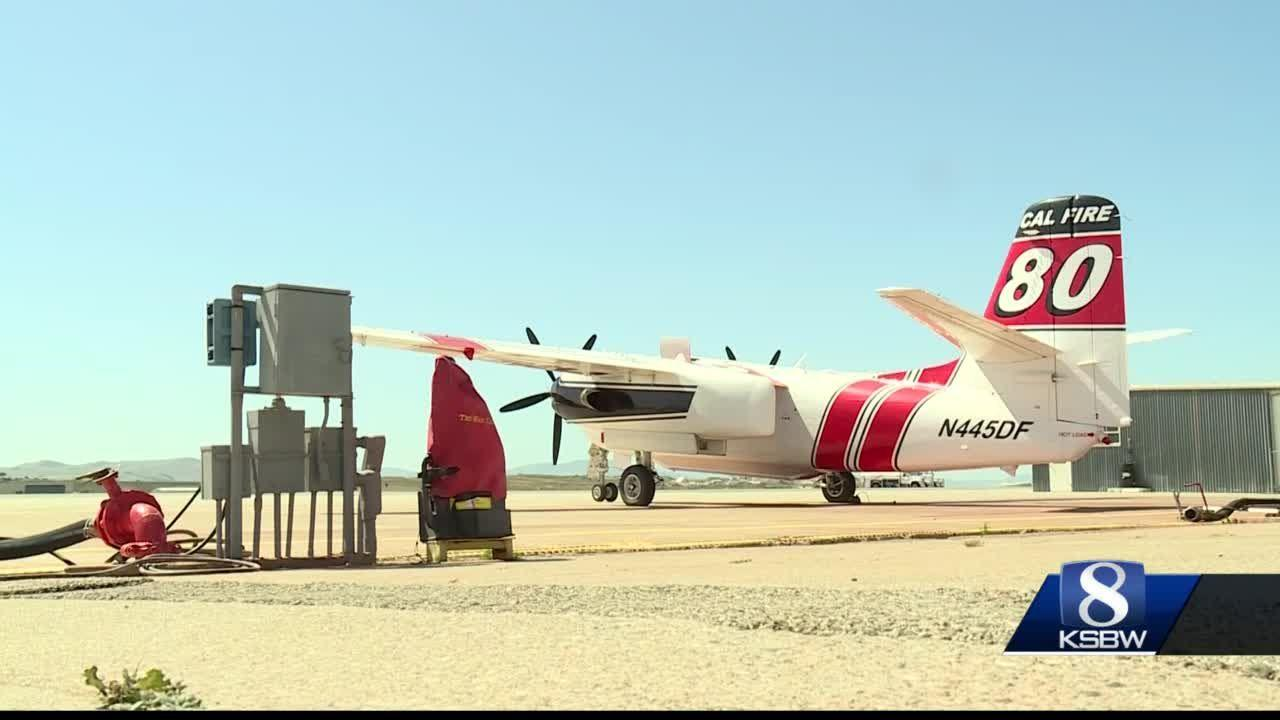 Cal Fire Air Attack Base in Hollister plays key role in wildfire fighting