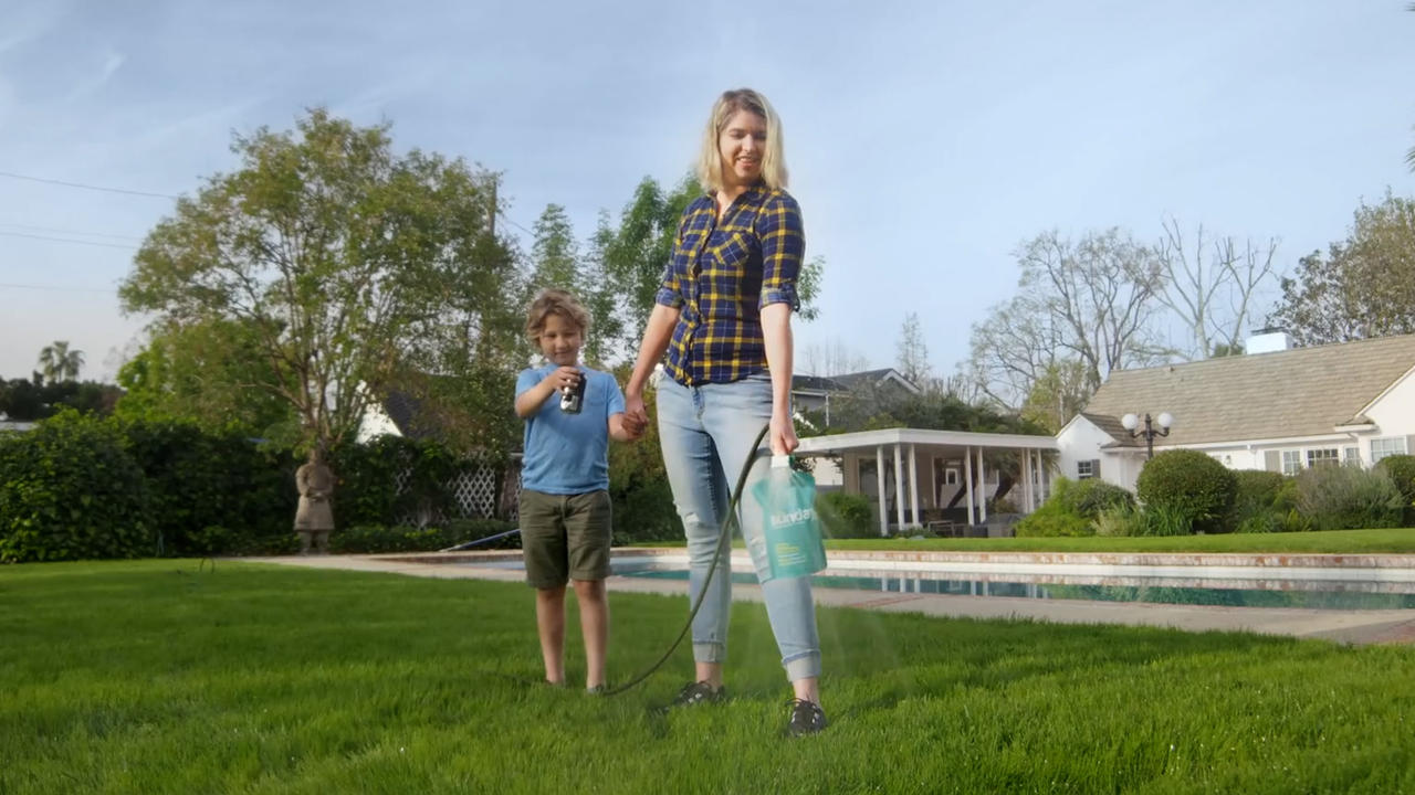With planet-friendly lawn care solutions from Sunday, the grass will be greener on your side