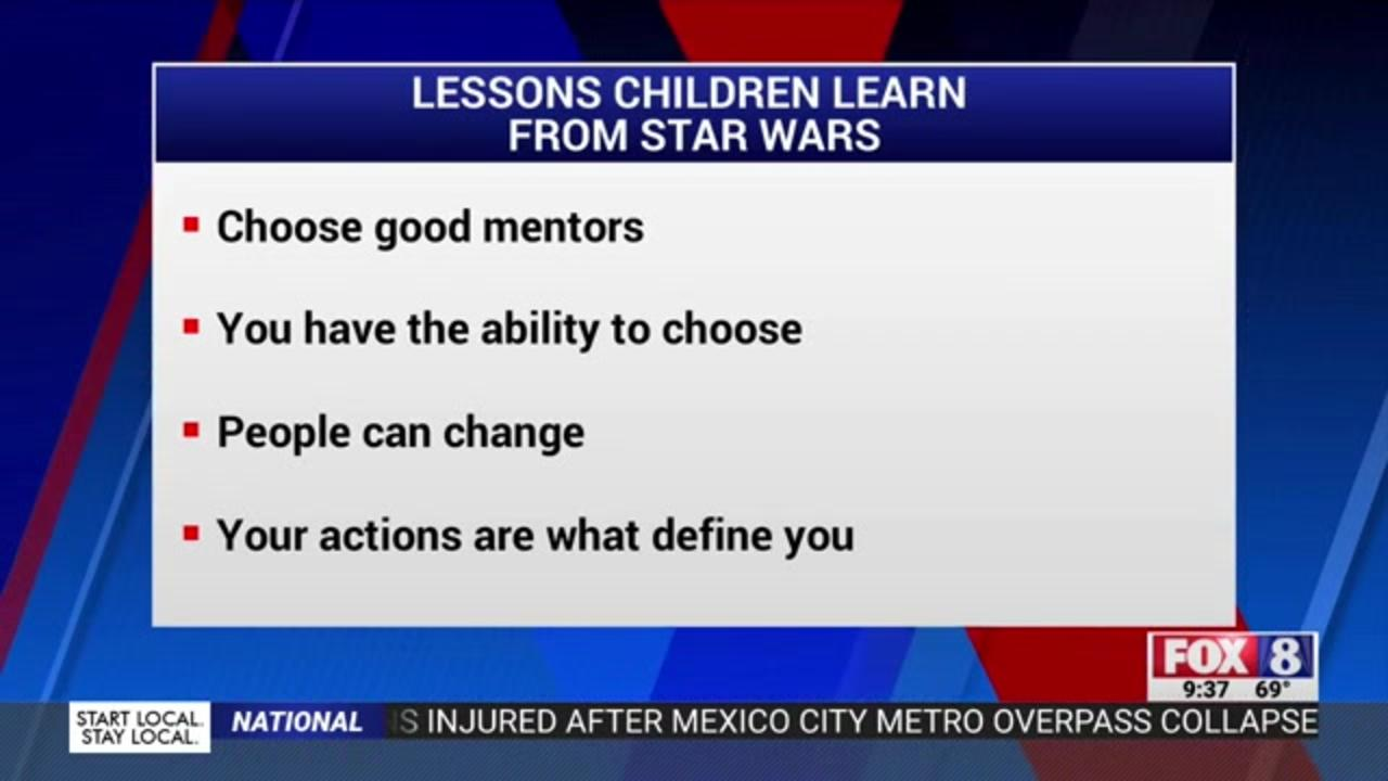 How Luke, Leia and the whole Star Wars gang can help you raise your kids