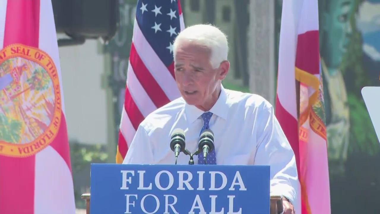 WEB EXTRA: Rep. Charlie Crist Running For Governor