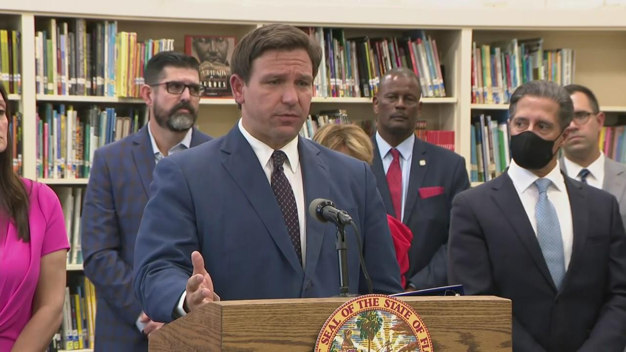WEB EXTRA: Gov. DeSantis Signs Early Learning Support Bill