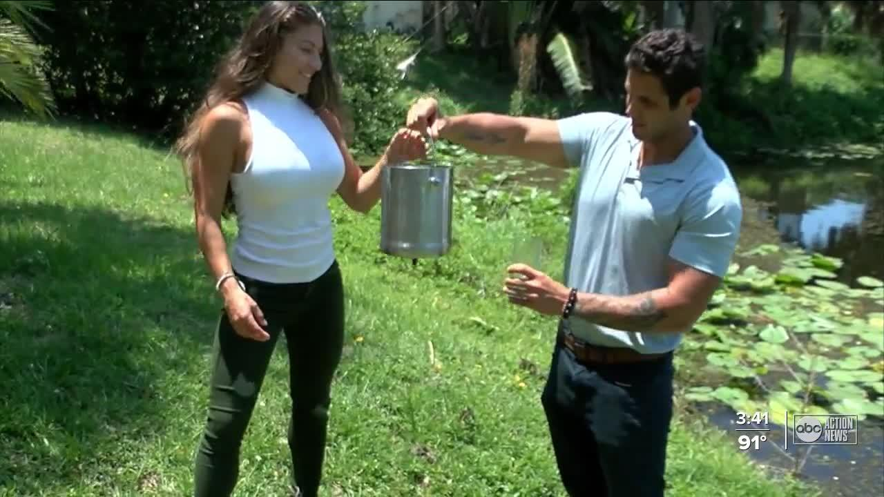 Couple thirsting for cleaner water makes own filtration system