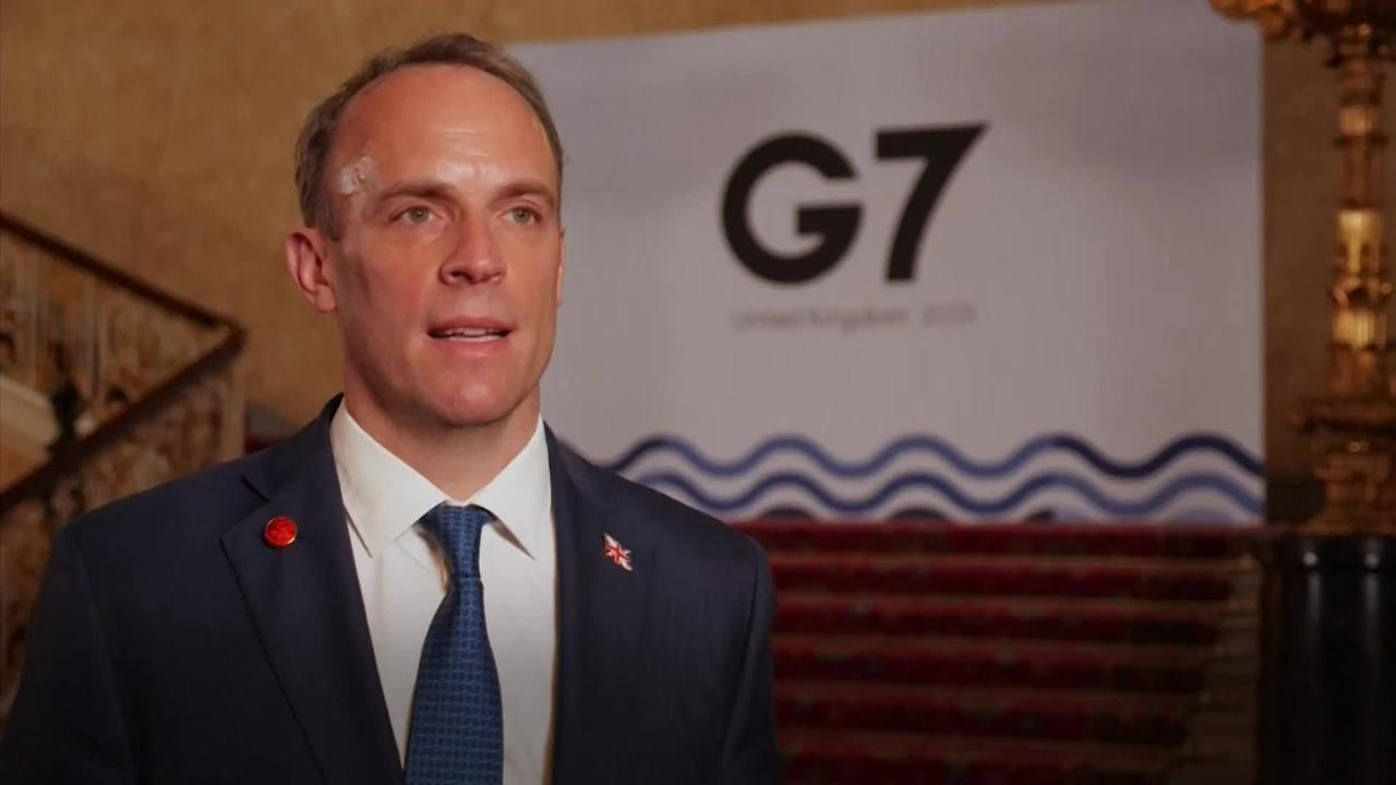 Dominic Raab: G7 will consider how to help most vulnerable countries battle pandemic