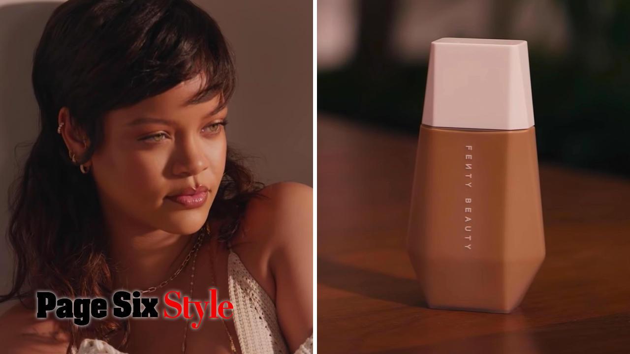 Style Trial Fenty Beauty: Eaze Drop Blurring Skin Tint