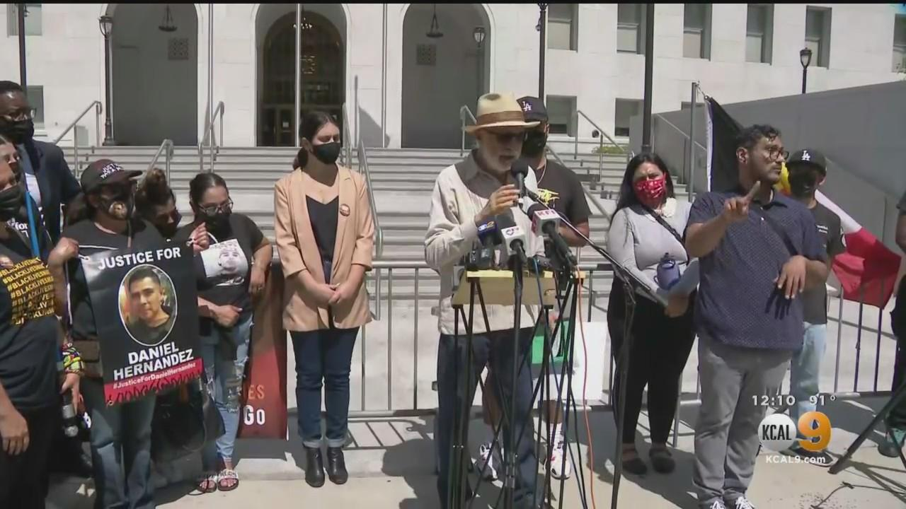 Families Of People Killed In Deputy-Involved Shootings Accuse LASD Of Harassing Them