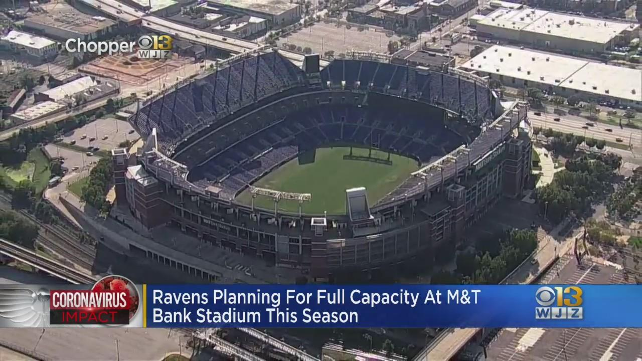 Baltimore Ravens Planning For Fans At Full Capacity At M&T Bank Stadium