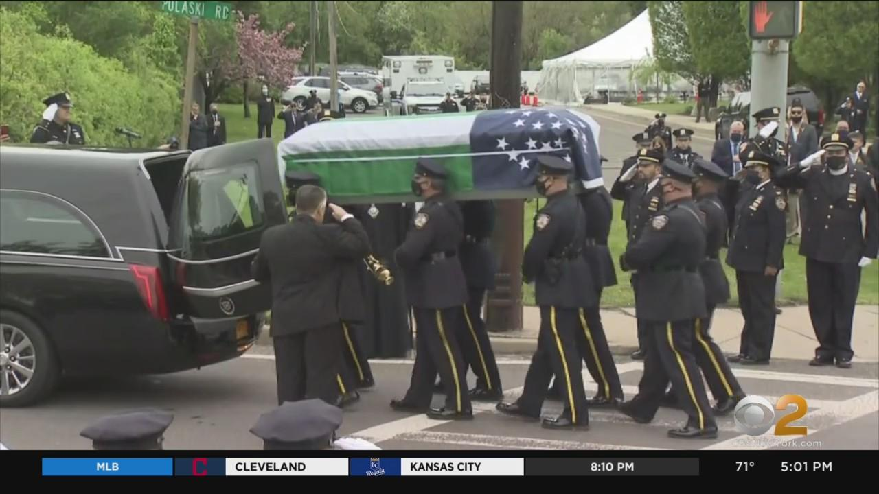 NYPD Officer Anastasios Tsakos Posthumously Promoted To Detective During Funeral Services