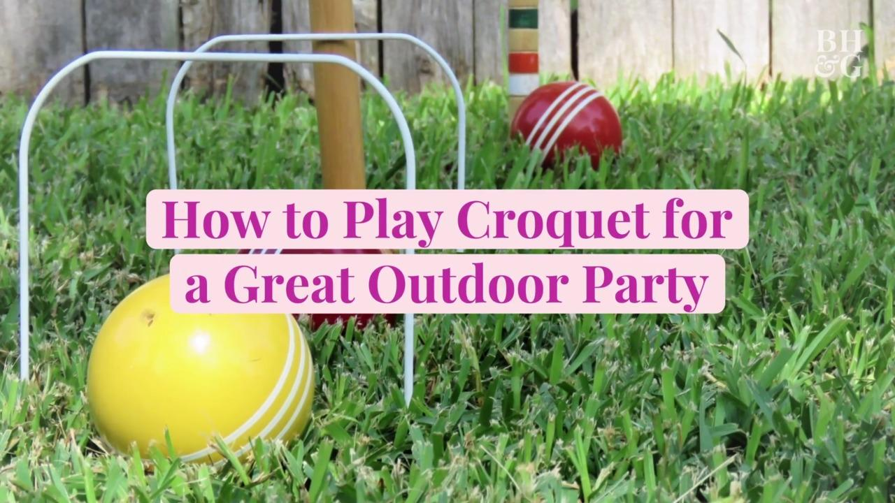 How to Play Croquet for a Great Outdoor Party