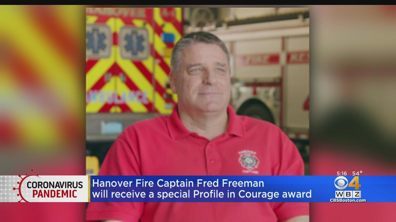 Hanover Fire Captain Fred Freeman Honored With JFK Profile In Courage Award