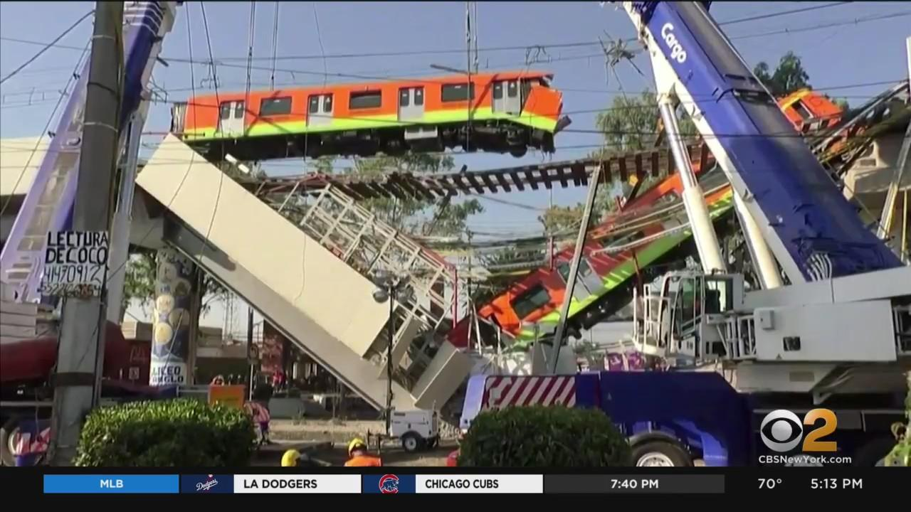 24 Killed In Elevated Train Collapse In Mexico City